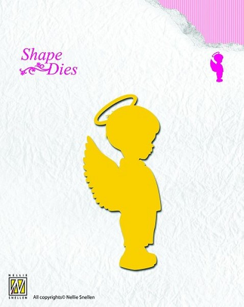 Nellie Snellen - Die - Shape Die - Angel Boy