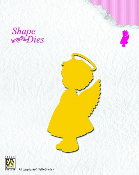 Nellie Snellen - Die - Shape Die - Angel Girl