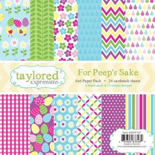 Taylored Expressions - Paperpack - For Peep`s Sake - TEPP107