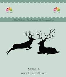 Dixi Craft - Die - Reindeer - MD0017