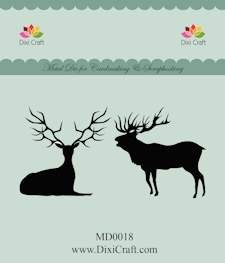 Dixi Craft - Die - Deer - MD0018