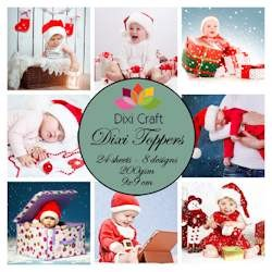 Dixi Craft - Paperpack - Christmas Babies Color - ET0253