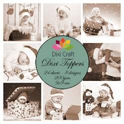 Dixi Craft - Paperpack - Christmas Babies Sepia - ET0254