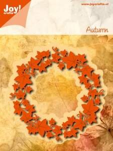 Joy! crafts - Noor! Design - Die - Autumn - Klimop krans