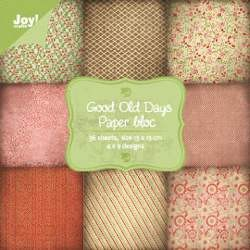 Joy! crafts - Noor! Design - Paperpack - Good old days - 6011/0067