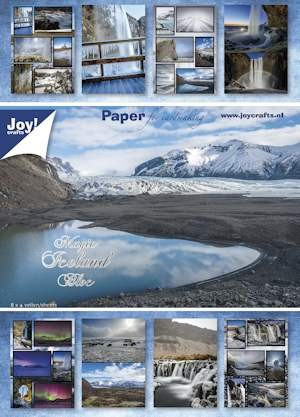 Joy! crafts - Paperpack - Magic Iceland - 6011/0074
