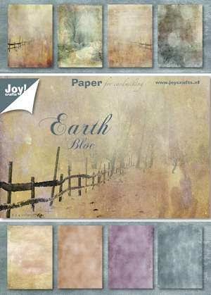 Joy! crafts - Paperpack - Earth - 6011/0084
