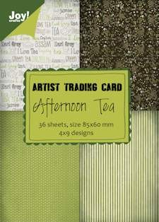 Joy! crafts - Noor! Design - Paperpack - ATC - Afternoon Tea - 6011/0406