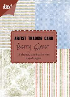 Joy! crafts - Noor! Design - Paperpack - ATC - Berry Sweet - 6011/0409