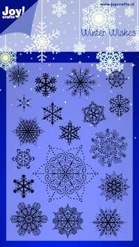 Joy! crafts - Noor! Design - Clearstamp - Winter Wishes - 6410/0125