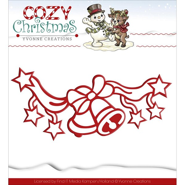 Yvonne Creations - Die - Cozy Christmas - Jingle Bells