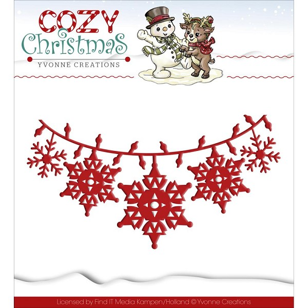 Yvonne Creations - Die - Cozy Christmas - Christmas Lights