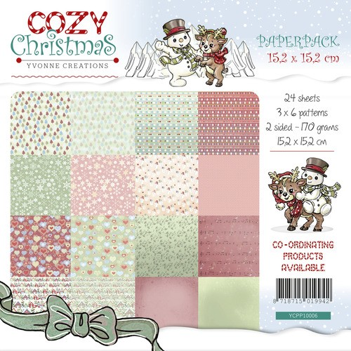 Yvonne Creations - Paperpack - Cozy Christmas - YCPP10006