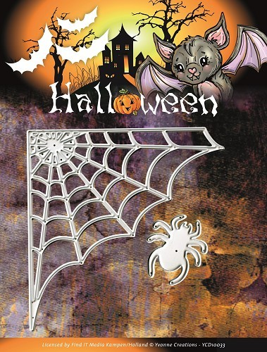 Card Deco - Yvonne Creations - Die - Halloween - Spiderweb