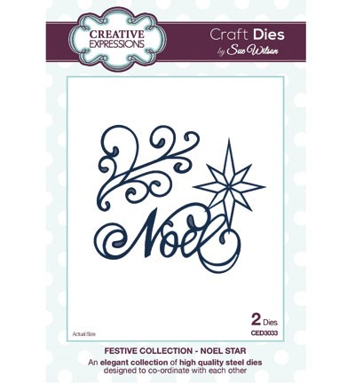 Creative Expressions - Die - The Festive Collection - Noel Star