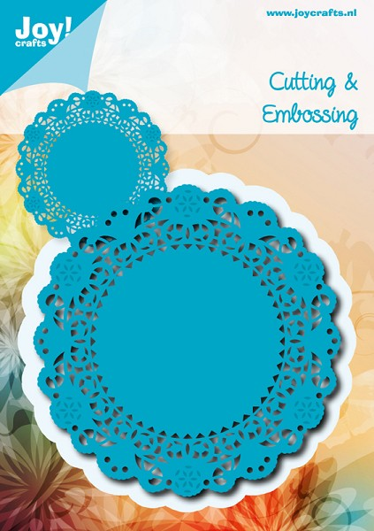 Joy! crafts - Noor! Design - Die - Doily rond
