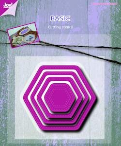 Joy! crafts - Die - Basic - Mery hexaganal