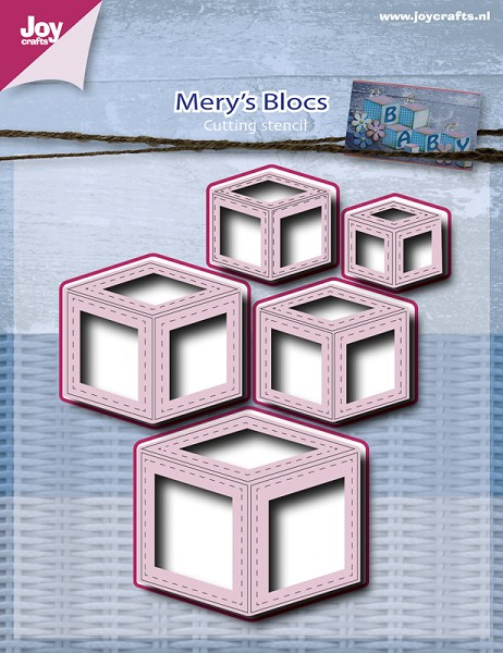 Joy! crafts - Die - Mery`s blocs
