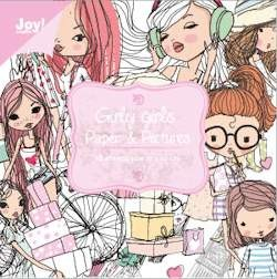 Joy! crafts - Paperpack - Noor! Design - 100 x 100mm - Girly girls