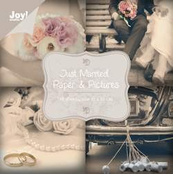 Joy! crafts - Paperpack - Noor! Design - 100 x 100mm - Just married