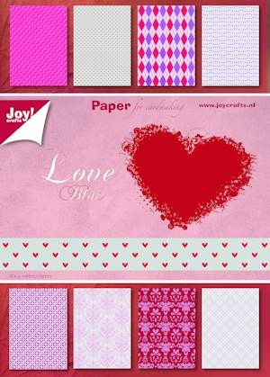 Joy! crafts - Paperpack - Valentine - 6011/0082