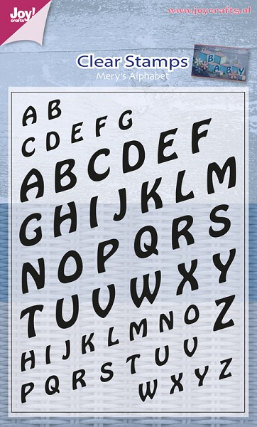 Joy! crafts - Clearstamp - Mery`s Alphabet - 6410/0368