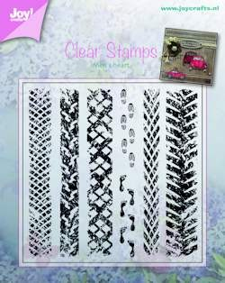 Joy! crafts - Clearstamp - Men`s heart - 6410/0375