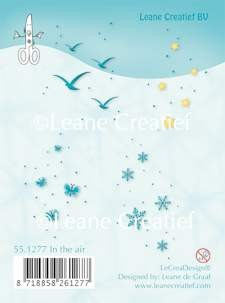 Leane Creatief - Clearstamp - In the air - 55.1277
