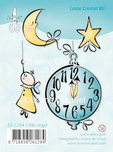 Leane Creatief - Clearstamp - Little angel - 55.1284