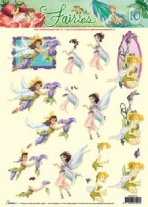 Studio Light - 3D-knipvel A4 - Disney Fairies - STAPDF10
