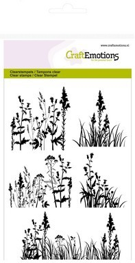 CraftEmotions - Clearstamp - Grasses, herbs - 130501/1144