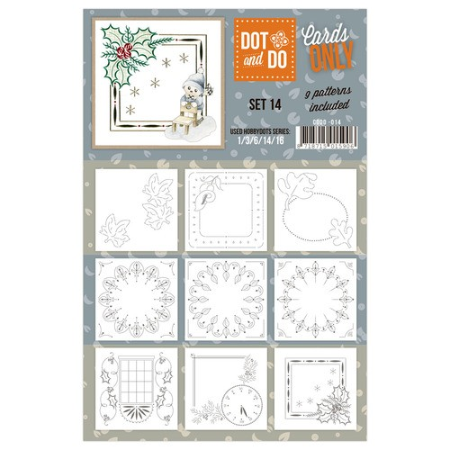 Card Deco - Oplegkaarten - Dot & Do - Cards Only - Set 14 - CODO014