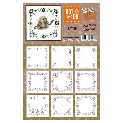 Card Deco - Oplegkaarten - Dot & Do - Cards Only - Set 15 - CODO015