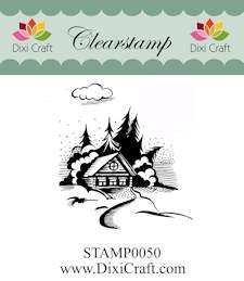 Dixi Craft - Clearstamp - Christmas Landscape - STAMP0050