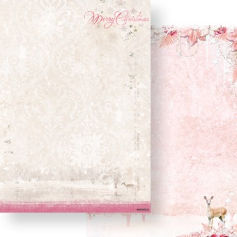 Studio Light - Achtergrondpapier - Sweet Winter Season - Merry Christmas - BASISSWS204