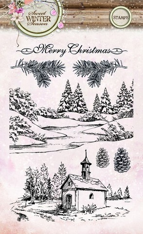 Studio Light - Clearstamp - Sweet Winter Season - STAMPSWS121