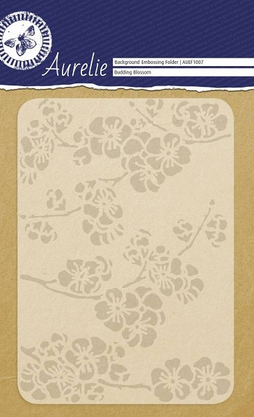 Aurelie - Embossingfolder - Background - Budding Blossom - AUEF1007