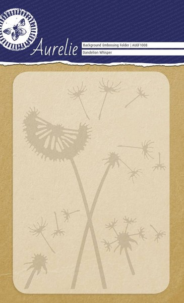 Aurelie - Embossingfolder - Background - Dandelion Whisper - AUEF1008