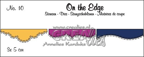 Crealies - Die - On the Edge - No. 10 - Mini 02