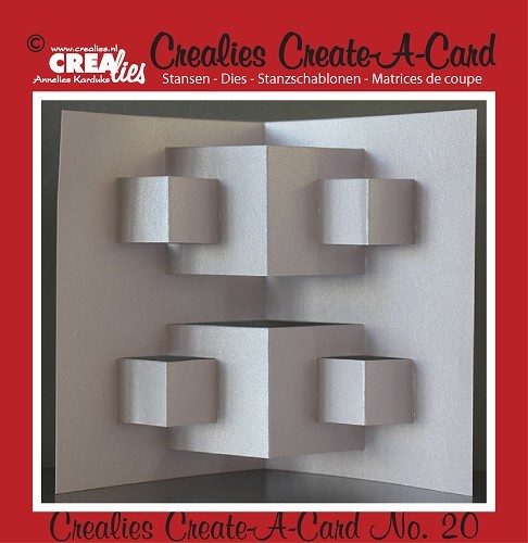 Crealies - Die - Create-A-Card - CCAC20