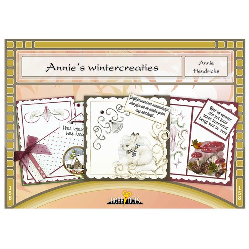 Card Deco - Hobbydols - No. 158 - Annies wintercreaties