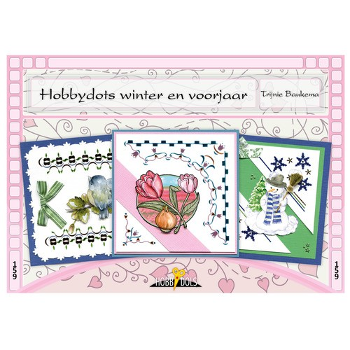 Card Deco - Hobbydols - No. 159 - Hobbydots winter en voorjaar