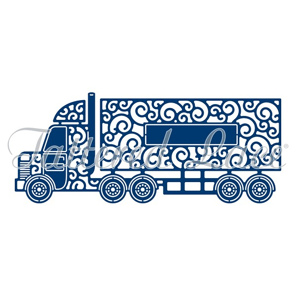 Tattered Lace - Die - Lorry