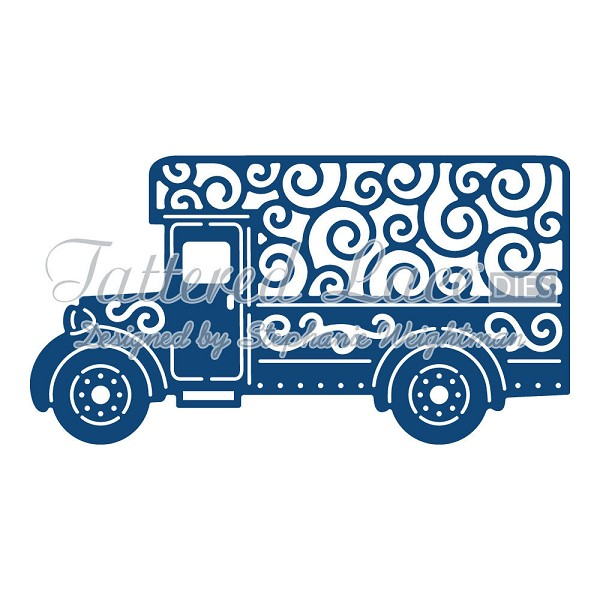 Tattered Lace - Die - Delivery Van