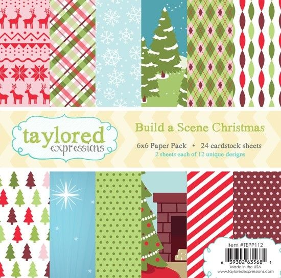Taylored Expressions - Paperpack - Build a Scene Christmas - TEPP112