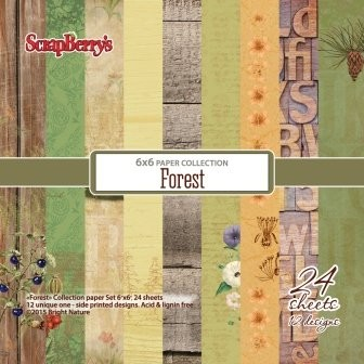 ScrapBerry`s - Paperpack - Forest - SCB220606712