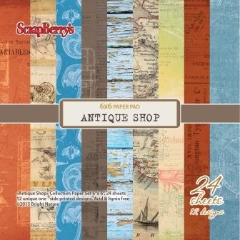 ScrapBerry`s - Paperpack - Antique Shop - SCB220606008