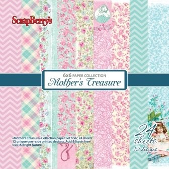 ScrapBerry`s - Paperpack - Mother`s Treasure - SCB220607213