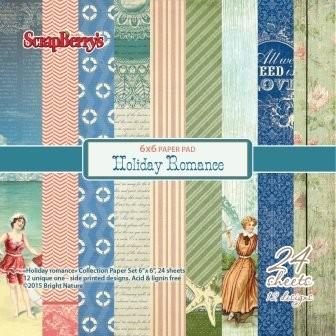 ScrapBerry`s - Paperpack - Holiday Romance - SCB220605910