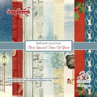 ScrapBerry`s - Paperpack - That Special Time of Year - SCB220607008
